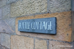 Bottle Cottage Sign
